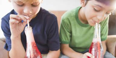"""Finger weg von Getränken """"für Kinder"""""""