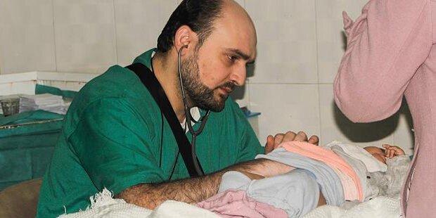 Aleppos letzter Kinderarzt starb weil er Leben retten wollte