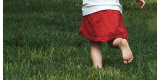 Kinderfüße sind breiter geworden