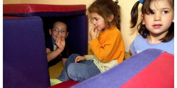 Jährlich bis zu 8.000 neue Kinderbetreuungsplätze
