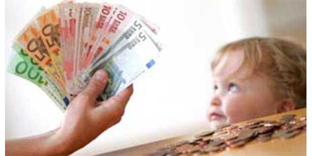 Nur 7.442 Männer bezogen Kindergeld