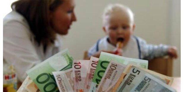 Kindergeld nimmt 1. Hürde im Parlament