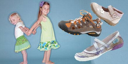 Gesunde Schuhe  für Kinder zu gewinnen!