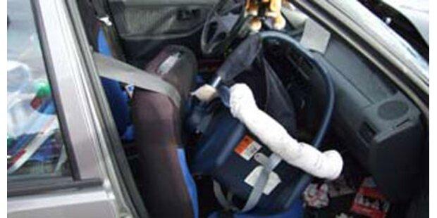 Kindersitze fallen im Test durch