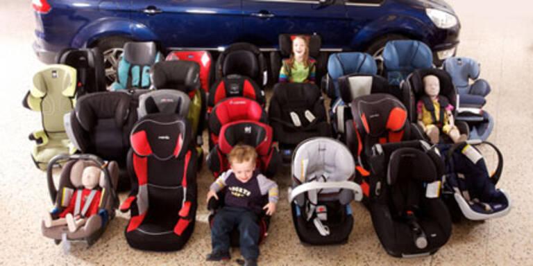 Kindersitze im Test: Teure überzeugten