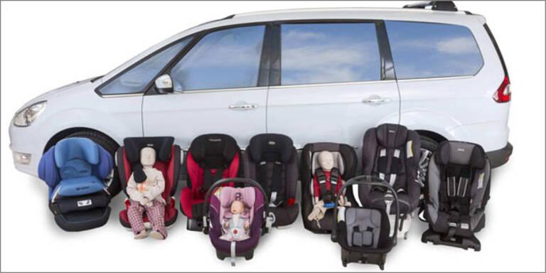 """Kindersitztest: 4 Mal """"nicht genügend""""!"""