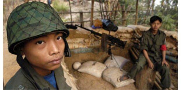 Militärjunta setzte Kindersoldaten ein