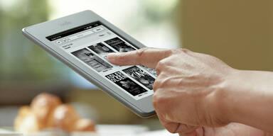 Amazon zieht Start des Kindle-Touch vor
