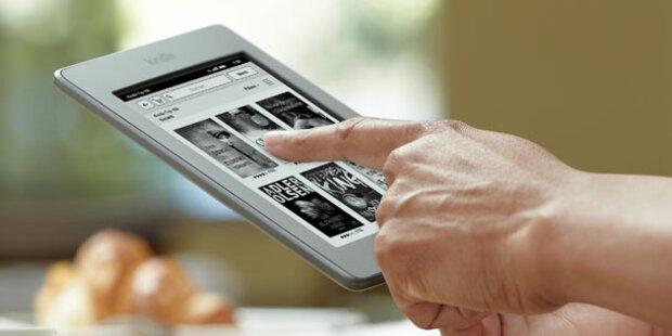 Amazon bringt Kindle Touch nach Österreich