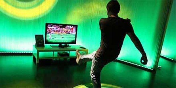 Bewegungssteuerung Kinect im Test