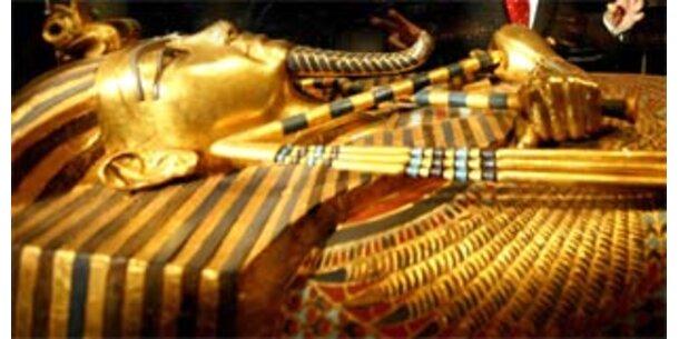 Erstmals das Gesicht von Tutanchamun zu sehen