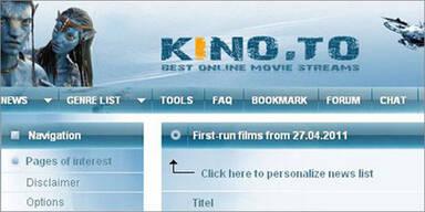 kino.to: Deutscher lud 120.000 Filme hoch