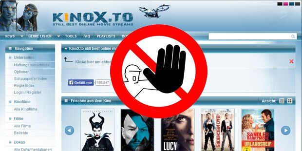 kinox.to-Sperre einfach zu umgehen