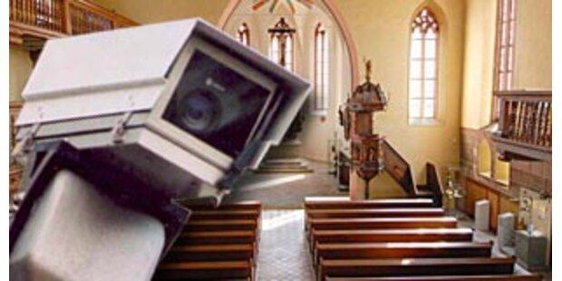 Jetzt kommt Videoüberwachung in den Kirchen
