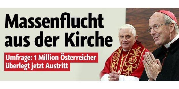 Eine Million Katholiken überlegt Austritt