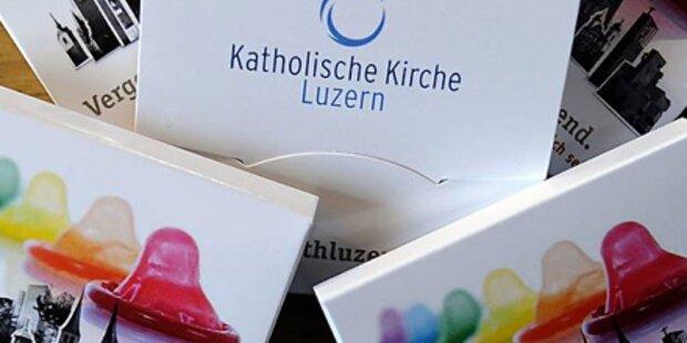 Schweizer Kirche verteilt Kondome