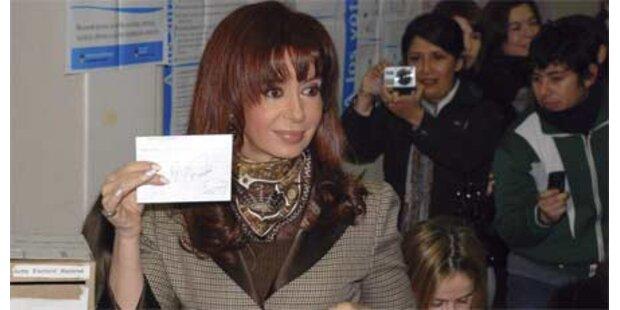 Wahl-Schlappe für Präsidentin Kirchner