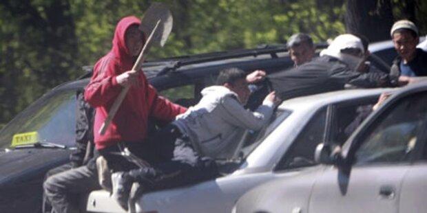 Blutige Unruhen in Kirgisistan: 5 Tote