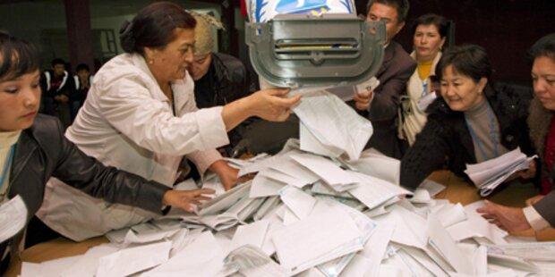 Kirgistan: Nationalistische Partei vorn