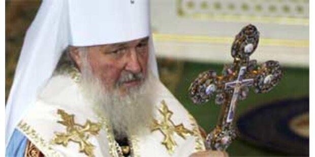 Kirill neuer Oberster der russich-orthodoxen Kirche