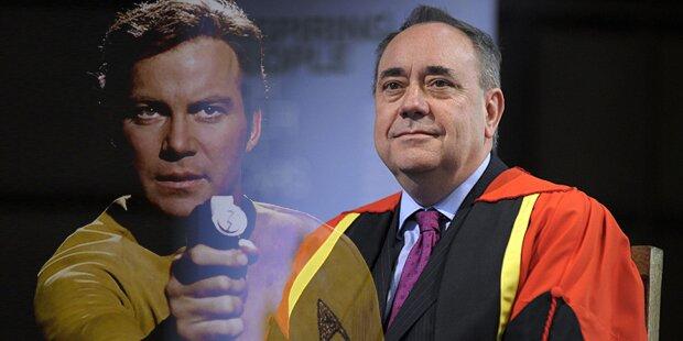 Ex-Ministerpräsident flog als Captain Kirk