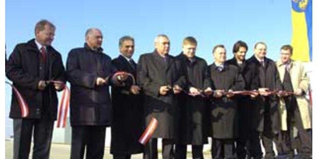Lückenschluss Wien-Bratislava gefeiert