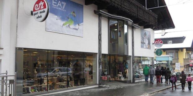 Kitzbühel: Diebe räumen Luxus-Geschäft leer