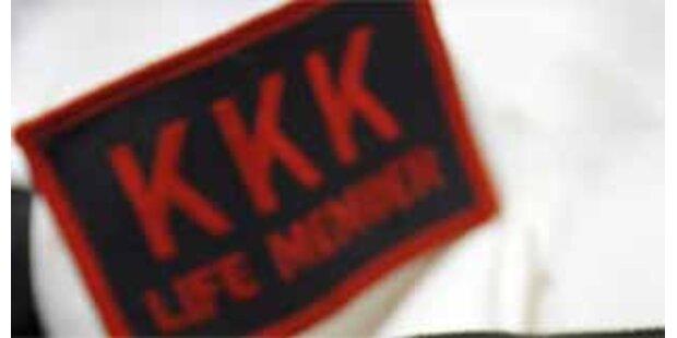 Bei Einführungsritual des Ku-Klux-Klans erschossen