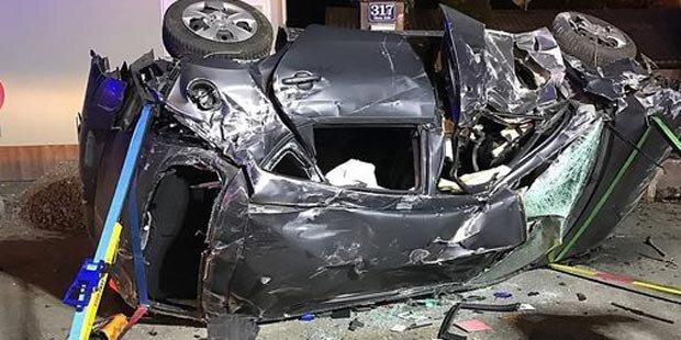 Horror-Crash: Autolenker fuhren einfach vorbei