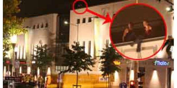 Mädchen auf Dach hielten Polizei in Atem