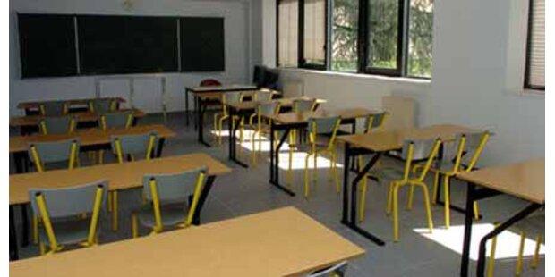 Schüler streiken für ihre Lehrer