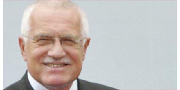 Tschechiens Präsident gegen Euro-Einführung