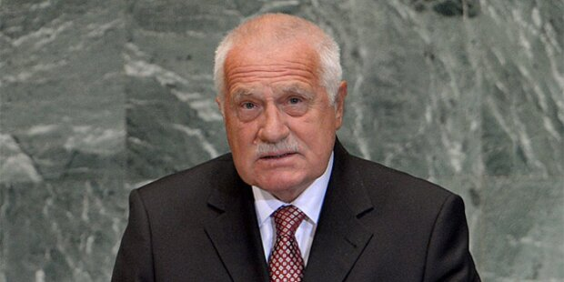 Vaclav Klaus erwägt Bewerbung für EU-Amt