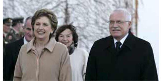 Heftige Kritik an Tschechiens Klaus vor EU-Vorsitz