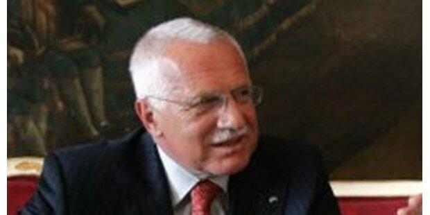 Prag kritisiert EU-Vertrag