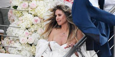 Traum in Weiß: Das ist Heidis Hochzeitskleid