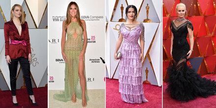 Oscars: Über diese Outfits spottet Netz