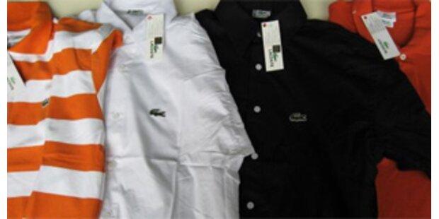 60.000 Stück gefälschte Markenkleidung entdeckt