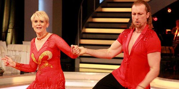 Dancing Stars: Tanz-Aus für Lisbeth Bischoff