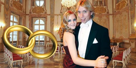 klein Jacqueline Lugner Helmut Werner Hochzeit heiraten