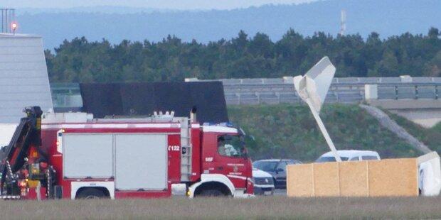 Kleinflugzeug-Absturz in Wr. Neustadt: Zwei Tote