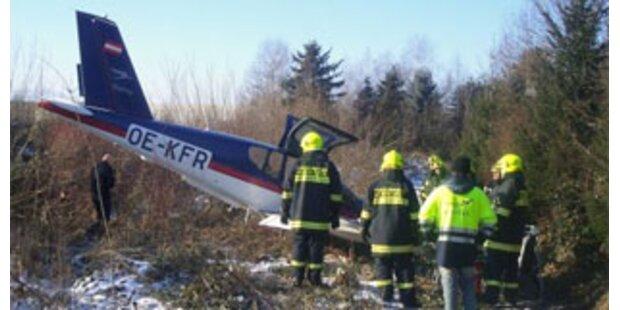 Kleinflugzeug in Stadt Salzburg notgelandet