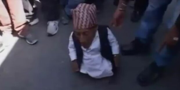 Das ist der kleinste Mensch der Welt