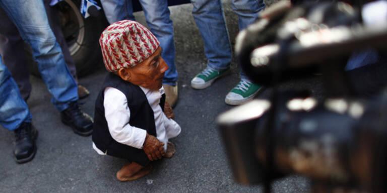 Jetzt ist er offiziell der kleinste Mann der Welt