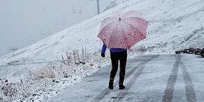 Kälteeinbruch in Österreich