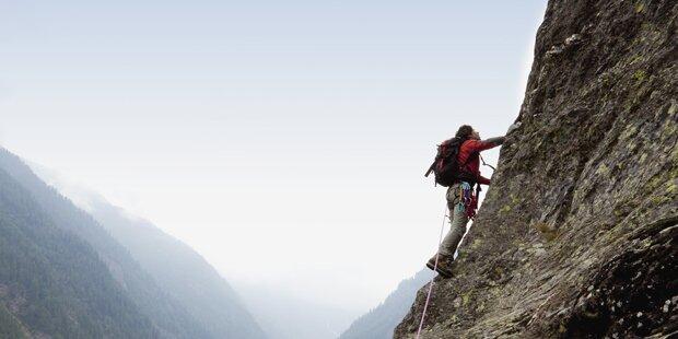 Salzburger beim Klettern tödlich verunglückt