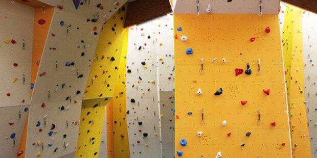 Kletterhalle für Sportzentrum Marswiese