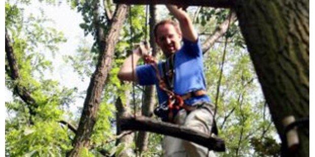 Obersteirer stürzte in Klettergarten zu Tode