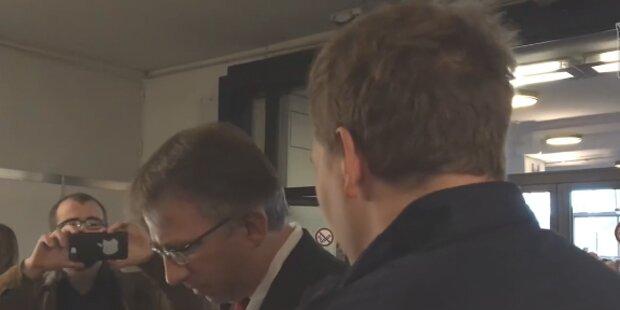 Hier wird ORF-Star Peter Klien in die Mangel genommen