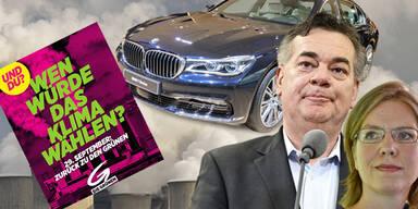 Werden grüne Minister auf Luxus-Dienstwagen verzichten?